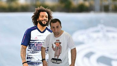 Son dakika spor haberi: Real Madrid'li Marcelo'dan Köksal Baba'ya davet!