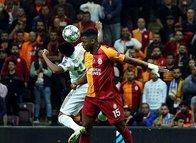 Galatasaray-Real Madrid maçının ilk yarısından kareler!