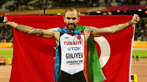 Milli atlet Ramil Guliyev Kenya'da dördüncü oldu