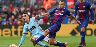 Barcelona yine tekledi!