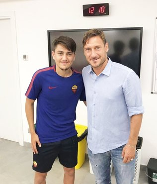 Francesco Totti İtalya Futsal Milli Takımı'na davet aldı