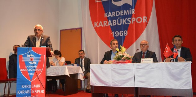 Kardemir Karabükspor'da Ferudun Tankut yeniden başkan
