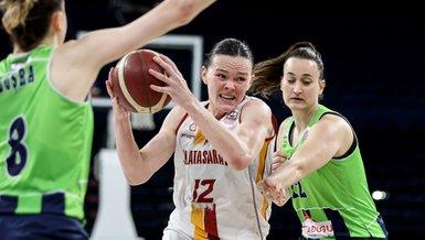 Galatasaray Kadın Basketbol Takımı Nesibe Aydın'ı yenerek finale yükseldi! Rakip Fenerbahçe