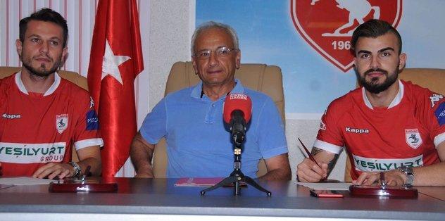Samsunspor'da 2 transfer