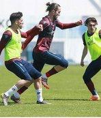 Trabzonspor'da Yeni Malatyaspor maçı hazırlıkları başladı