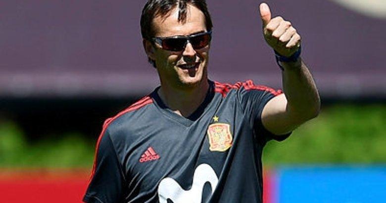 Real Madrid'le anlaşan Julen Lopetegui kovuldu!