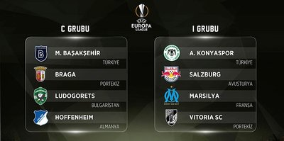 Avrupa Ligi'nde gruplar belli oldu