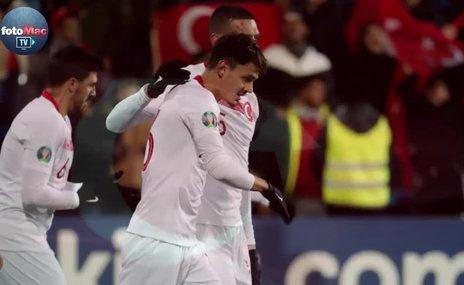 Andorra - Türkiye maçından kareler