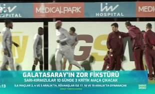 Galatasaray'ın zor fikstürü