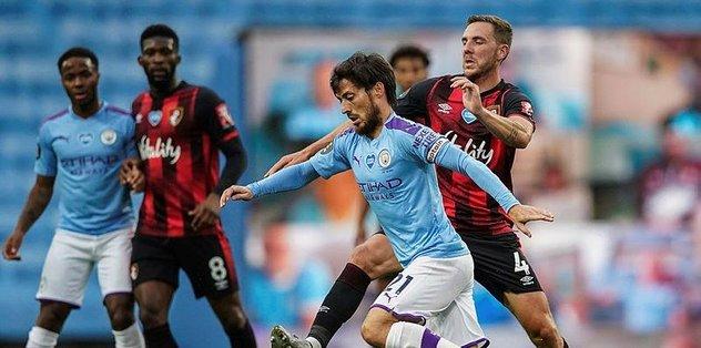 Manchester City 2-1 Bournemouth   MAÇ SONUCU - Futbol -
