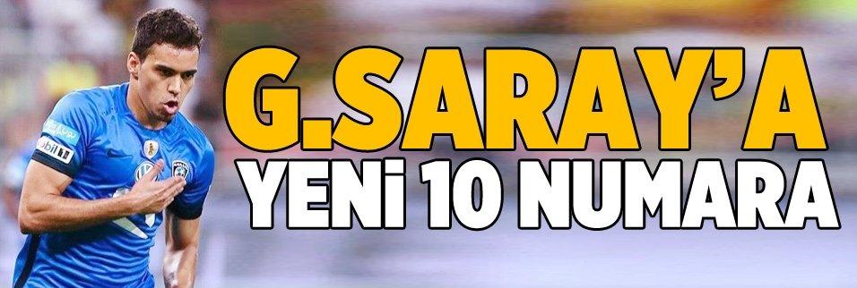 Galatasaray'a yeni 10 numara!