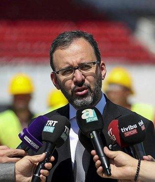 """Bakan Kasapoğlu: """"Mevcut sıkıntıları işbirliği ile çözeceğiz"""""""