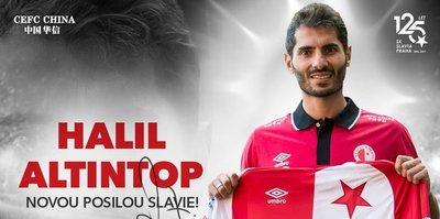 Halil Altıntop Slavia Prag'da
