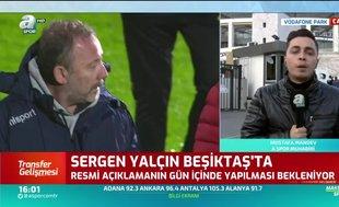 Beşiktaş'ta Sergen Yalçın dönemi başlıyor!