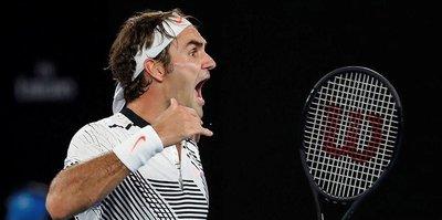 Federer kazandı