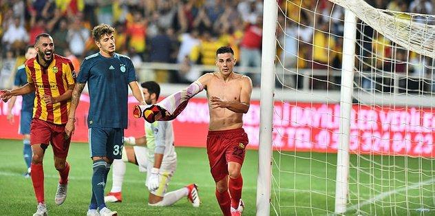 Aleksic atıyor Yeni Malatyaspor kaybetmiyor