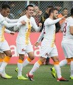 Galatasaray Ankara'da engeli aştı