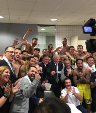 Fenerbahçe 5. kez Dörtlü Final'de! Zalgiris Kaunas 82-99 Fenerbahçe (MAÇ SONUCU)