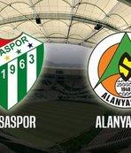 Bursaspor - Alanyaspor l CANLI