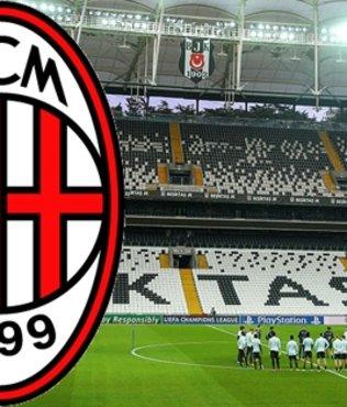AC Milan, Vodafone Park'a geldi!