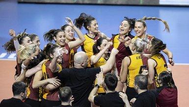 Galatasaray Kadın Voleybol Takımı CEV Kupası'nda finale yükseldi!