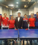 Masa Tenisi A Milli takımı Kayseri'de kampta