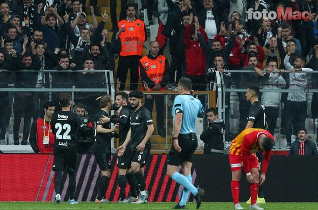 Beşiktaş - Kayserispor maçının sineması