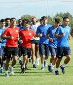 Antalyaspor'da rejenerasyon idmanı