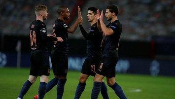 Manchester City gruptan çıkmayı garantiledi!