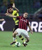 Nuri'li Dortmund Hakan'lı Milan'ı devirdi