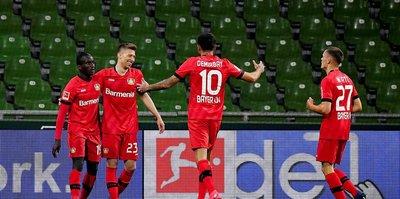 Werder Bremen 1-4 Bayer Leverkusen   MAÇ SONUCU