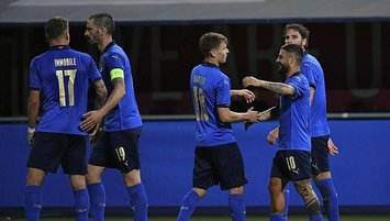İtalya Çekya'yı farklı mağlup etti!