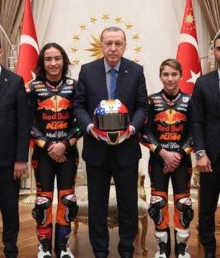 Cumhurbaşkanı Erdoğan Öncü kardeşleri kabul etti