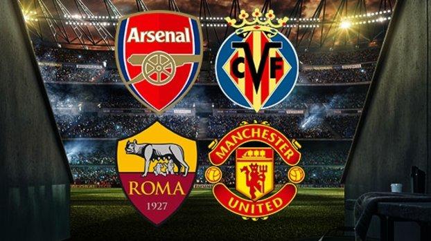 Arsenal-Villarreal | Roma-Manchester United CANLI #