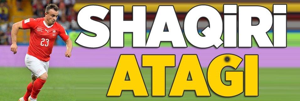Shaqiri atağı