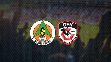 Alanyaspor-Gaziantep FK maçı ne zaman, saat kaçta ve hangi kanalda CANLI yayınlanacak?