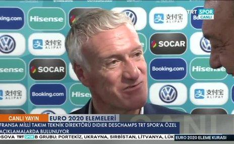 Fransa Teknik Direktörü Didier Deschamps'tanTürkiyeve Valbuena yorumu!