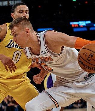 Porzingis, NBA tarihine geçti