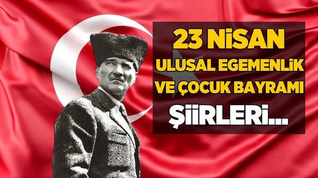 23 Nisan Ulusal Egemenlik ve Çocuk Bayramı için en güzel Türk Bayrağı fotoğrafları ve şiirleri! Türk Bayrağı tarihçesi nedir? 23 Nisan anlam ve önemi... #