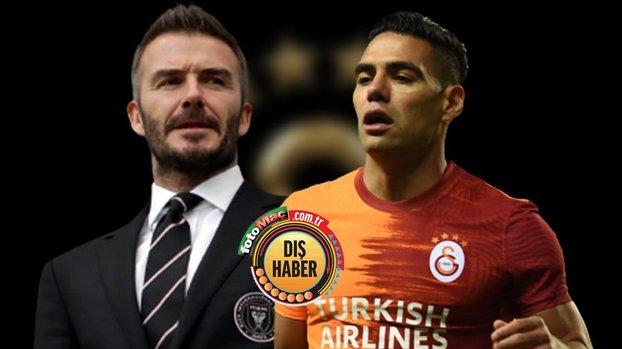 Falcao transferinde ortalık karıştı! Beckham'a iki rakip... #