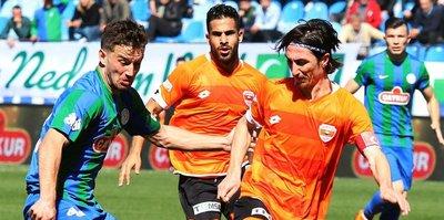 Rizespor ve Adanaspor puanları paylaştı
