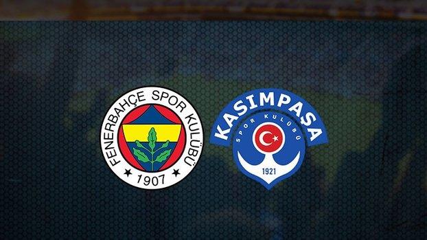 Fenerbahçe hazırlık maçı! Fenerbahçe - Kasımpaşa maçı ne zaman, saat kaçta ve hangi kanalda canlı yayınlanacak?   Fb hazırlık maçı izle