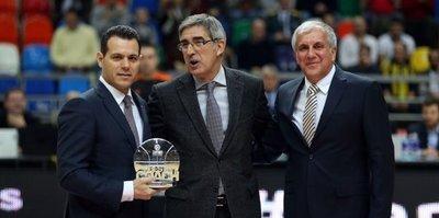 Euroleague'de yılın koçu Dimitris Itoudis