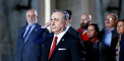 Mustafa Cengiz'den Anıtkabir'e ziyaret