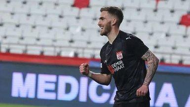 Sivassporlu Tyler Boyd gol sayısını 4'e çıkarttı!