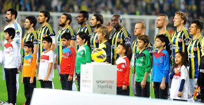 Fenerbahçe maçından ilk kareler