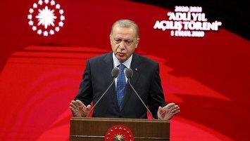 Başkan Erdoğan'a teşekkür