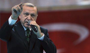 Başkan Recep Tayyip Erdoğan'dan UEFA'ya tepki
