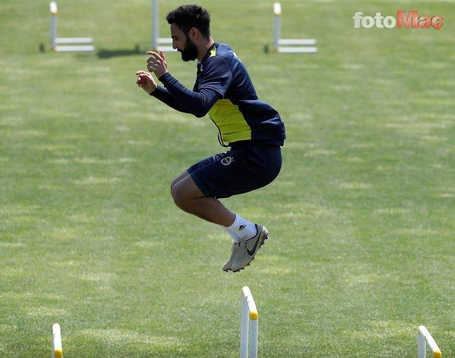Fenerbahçe taktik çalıştı! İşte antrenmandan kareler...