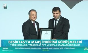 Beşiktaş'ta gündem 'maaş indirimi'